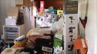 """Craft Room Tour  Part 1 """"what A Mess!"""""""