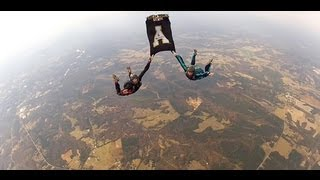 Appalachian State University Flag Skydive
