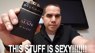 Bvlgari Man In Black (Confident manliness!!)