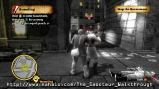 The Saboteur Walkthrough - Prologue - Mission 1: Spark One Up Part 1