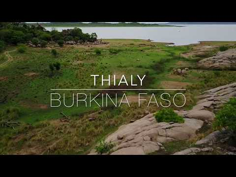 Travel Video: Burkina Faso by Drone / Thialy Lodge close to Pama