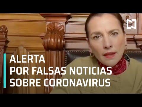 Beatriz Gutiérrez Müller Pide No Creer En Noticias Falsas Por Coronavirus - Las Noticias