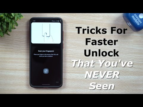 Tricks For FASTER Fingerprint Unlock - You've Never Seen These Tips Before