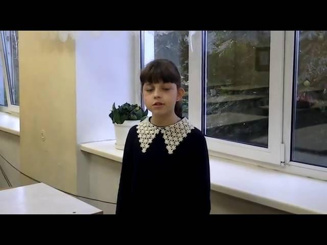 Алена Воротникова читает произведение «Матери» (Бунин Иван Алексеевич)