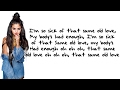 Selena Gomez  Same Old Love Clean Lyrics