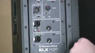 EV Live X ELX112P and ELX118P Review QSC Comparison