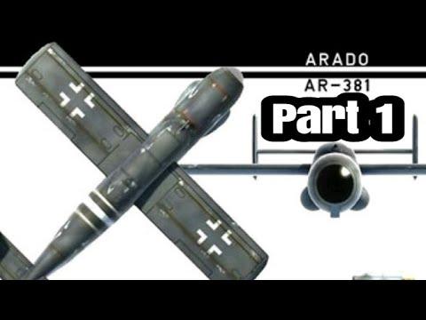 RC Arado Abfangjäger / Minifighter build Part 1