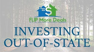 Real Estate Investing Out-of-State