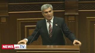 Ձեր վարչապետի խոսքով ասեմ՝ դոմփելով գնում եք  Արամ Սարգսյան