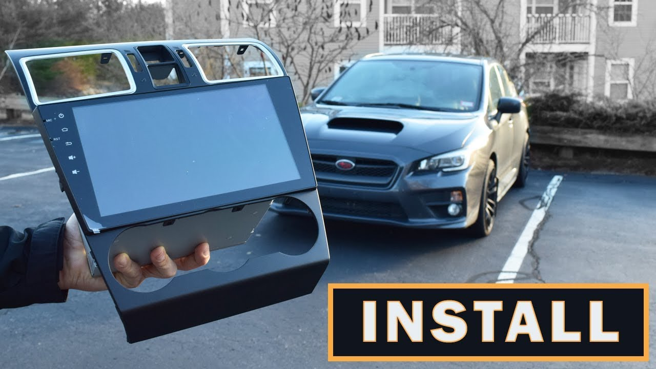 BEST MOD?! Subaru WRX & STI Seicane Android 8 1 Headunit Radio Install  WRX  VLOG 57