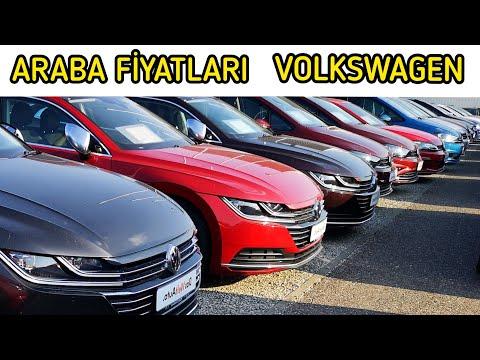İkinci El Volkswagen Araba fiyatları (Almanya)