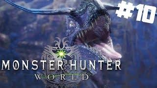 Monster Hunter World PL #10 - Oślepiający Tzitzi Ya Ku w Nowej Kranie Koralowców