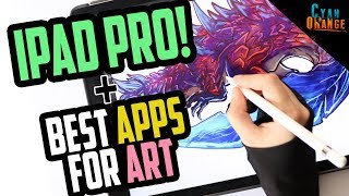 Review: IPAD PRO + Best APPS for Art [English] by Cyan Orange Studio