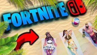 ...y llegó el verano a FORTNITE ☀️🌴 En directo con la Nintendo SWITCH