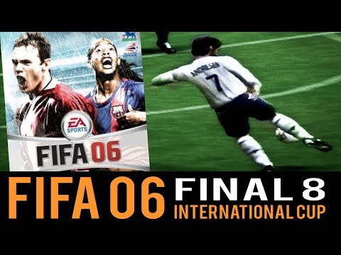 Fifa 06 INTERNATIONAL CUP FINAL8! (Playstation 2)