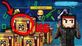 Pixel Gun 3D - Open 7 Super Chest Row