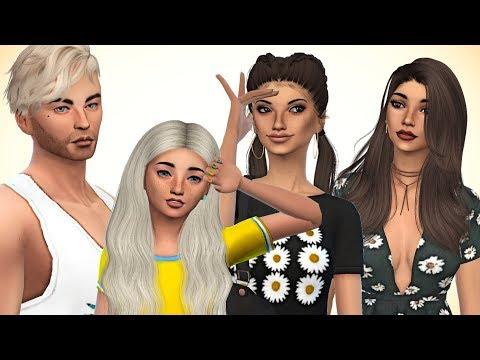 The Sims 4: Create a Sim // SUMMER TIME FAMILY + CC LINKS