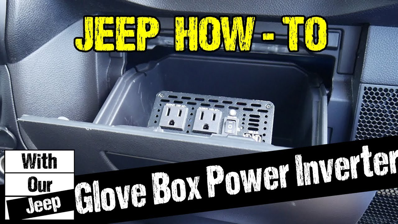 Glove box power inverter install in a jeep wrangler youtube glove box power inverter install in a jeep wrangler publicscrutiny Gallery