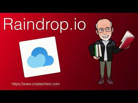 Raindrop.io - A Bookmark Manager