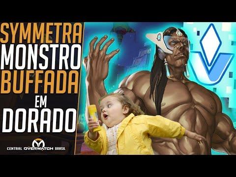 O ATAQUE DA SYMMETRA MONSTRO EM DORADO - #VISHKAR PELO MUNDO - Central Overwatch Brasil