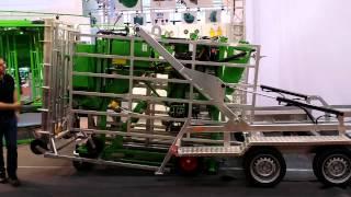 Прицеп для перевозки,разгрузки и загрузки станка KVK 800-1(, 2015-02-19T12:28:48.000Z)