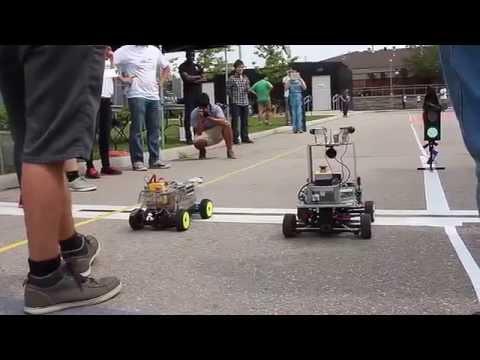 2015 International Autonomous Robot Racing Challenge Highlights