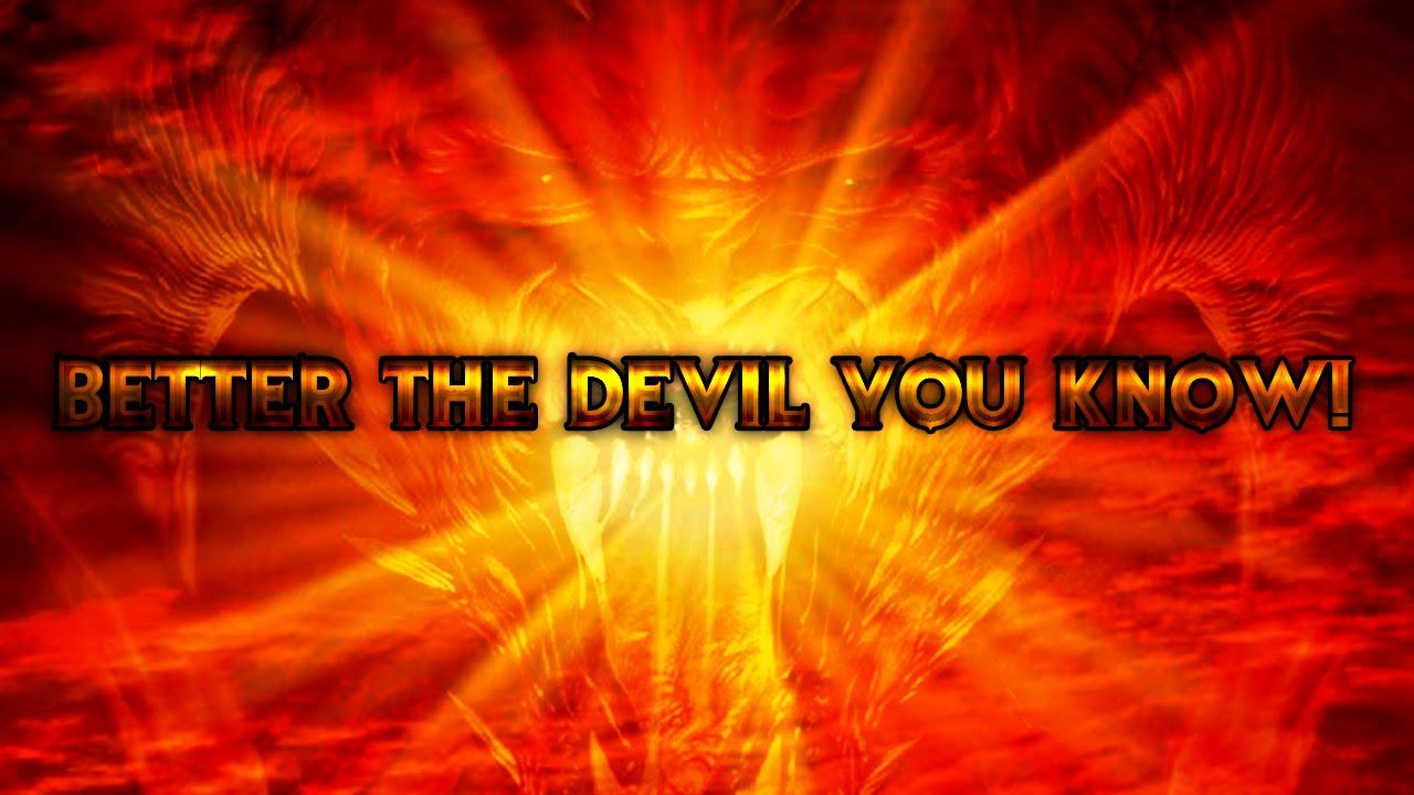 Satan Saturn Sun Worship Better The Devil You Know