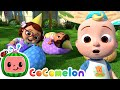 JJ's Birthday Musical Chairs!   CoComelon Nursery Rhymes & Baby Songs   Moonbug Kids