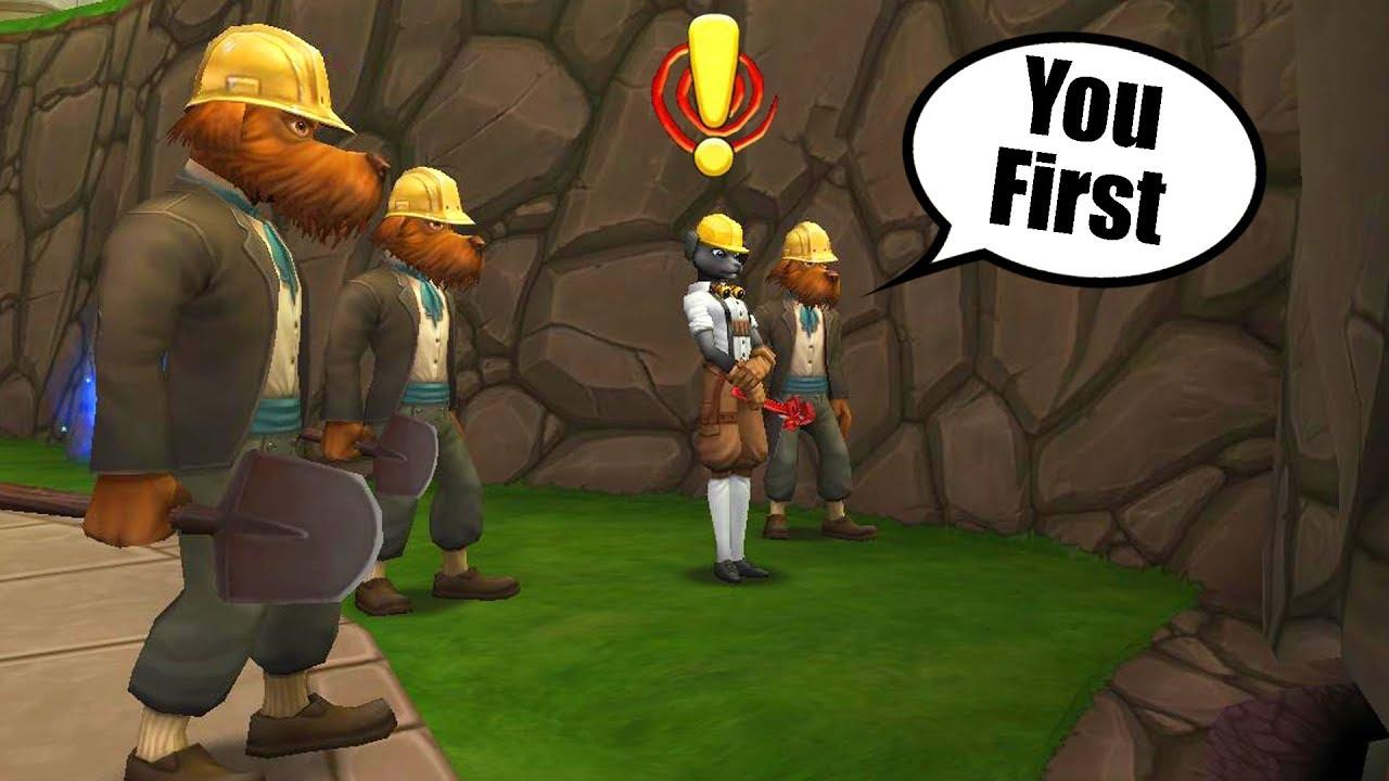 Wizard101 Olde Town Underground Theories New Darkmoor At 130