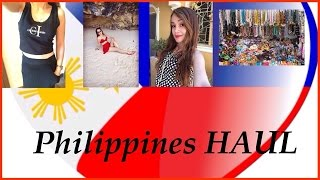 Philippine HAUL. cute affordable clothing (try on) and some souvenirs Thumbnail
