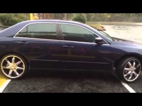 "Honda Of Charlotte >> 20"" U2 wheels shining out the 2006 Honda Accord from RimTyme of Charlotte - YouTube"