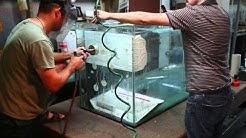 Drilling a hole in a glass aquarium
