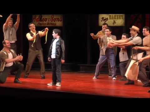 Joshua Colley - A Bronx Tale: The Musical