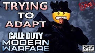 Trying to NOT have a STROKE while ADAPTING to MODERN WARFARE 😬 New COD MW update 1.07