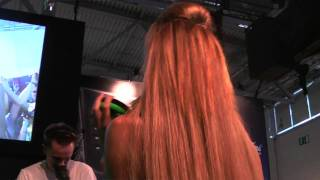 GamesCom 2010 Razer Babes [HD]