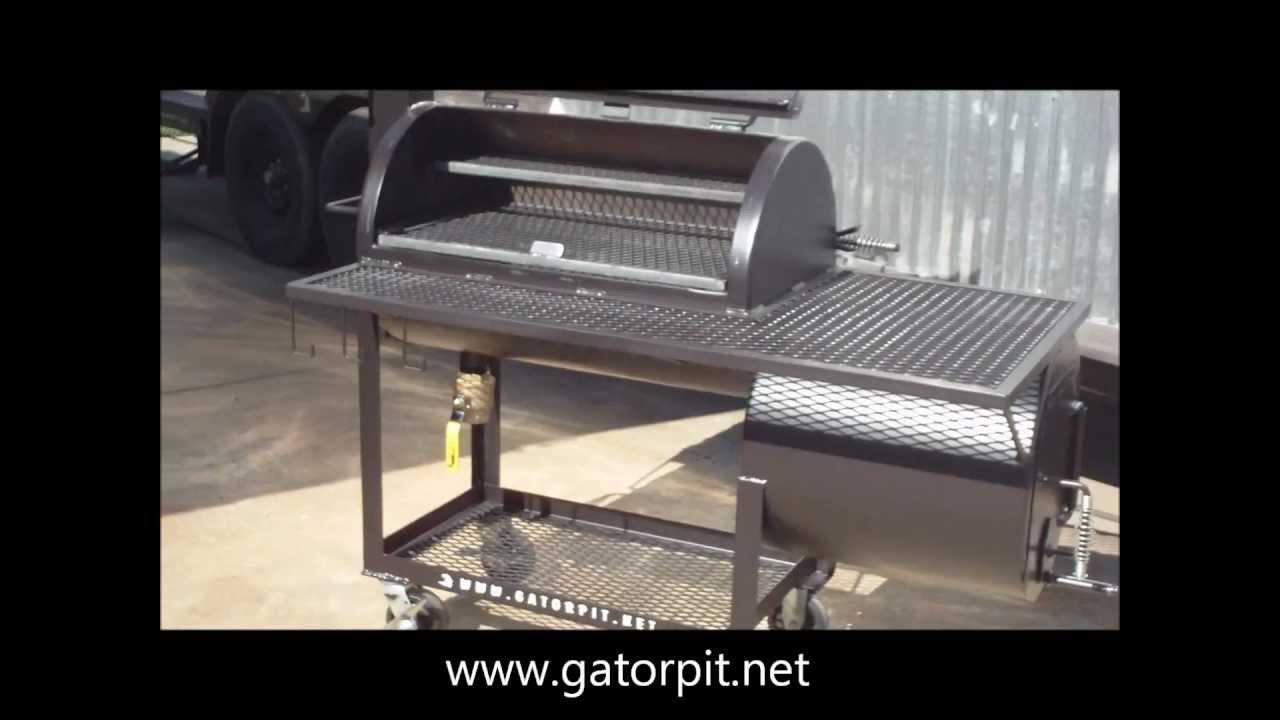 Backyard Classic by Gator Pit of Texas BBQ Pits  YouTube