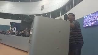 Fevereiro de 2017: Contra reajuste na Tarifa, Manoel denuncia a má qualidade do transporte público