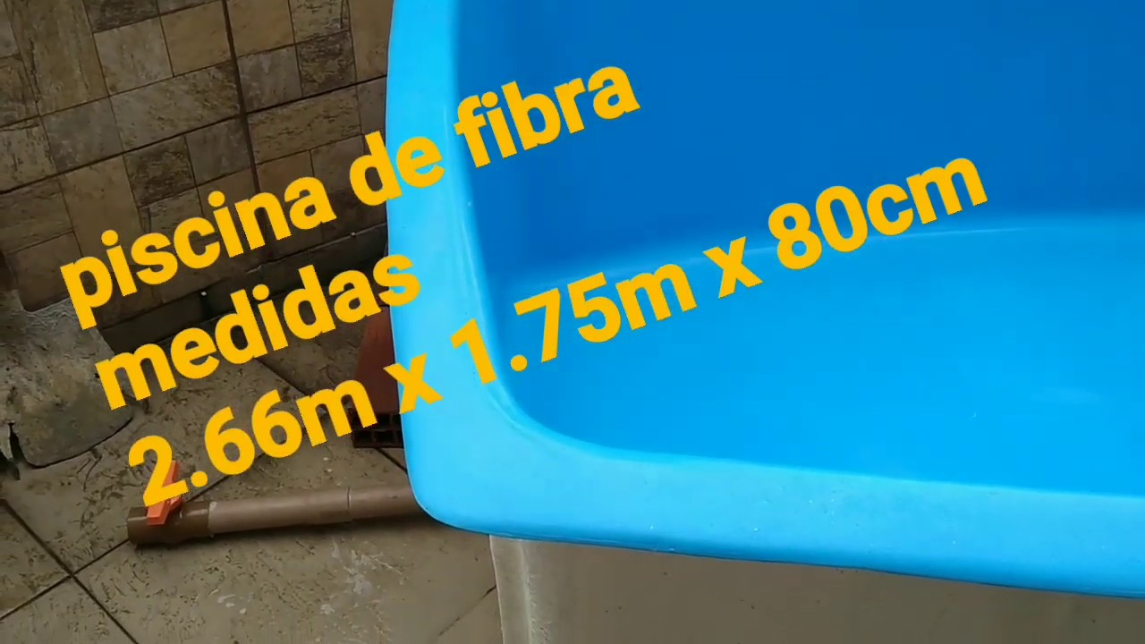Instalação Piscina De Fibra Medidas 2 66m X 1 75m X 80 Cm De Profundidade Equipe Mmpiscina Rj Youtube