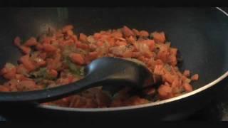 Spicy Carrot Fry Recipe, Gajar Ki Sabji