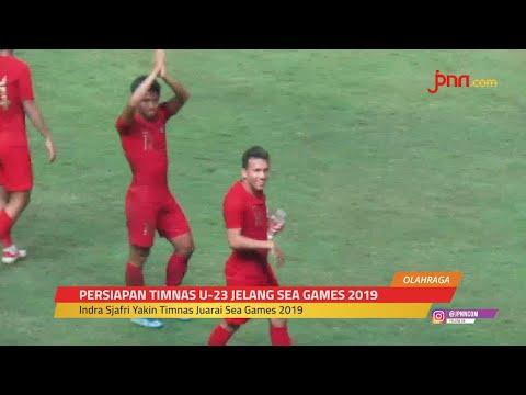 Pelatih Timnas U-23 Indonesia Indra Sjafri: Mudah-mudahan Tuhan Sayang sama Saya