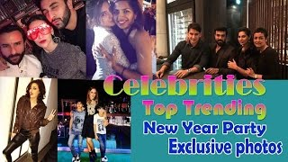 Celebrities Top Trending  New Year Party Exclusive photos