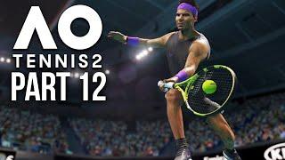 AO TENNIS 2 Career Mode Part 12 - MY BEST RALLY YET