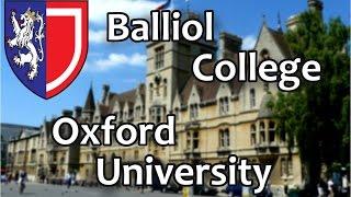26. Бэллиол Колледж, Оксфордский Университет. Balliol College, Oxford University. OxfordInside