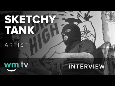 Sketchy Tank On His Weedmaps Collaboration