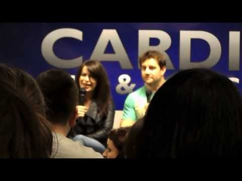 Eve Myles & Kai Owen Panel Cardiff Comic Con 2014