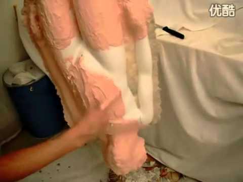 Full body silicone doll making tutorial