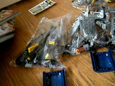 Lego Agents 2.0 Arial Defense Unit Unboxing Pt.1