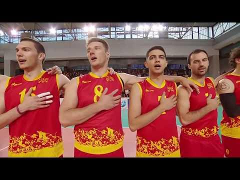 CEV European League Men 2017 Sweden - Macedonia