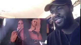 Demi Lovato - Sorry Not Sorry (Live From The 2017 American Music Awards) - REACTION