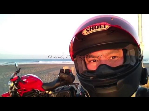 Road Trip East on the Ducati